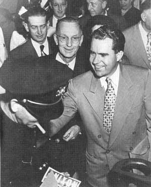 Nixon in 1950
