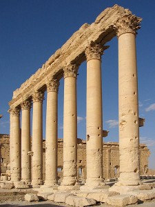 Bel Temple Columns