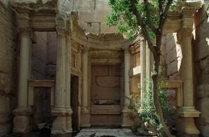 Baal Shamin Temple -- Inside