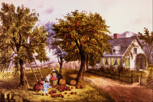 American_Homestead_Autumn_-_Currier_and_Ives