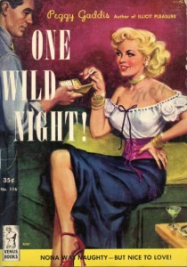 A wild night... for your wife.